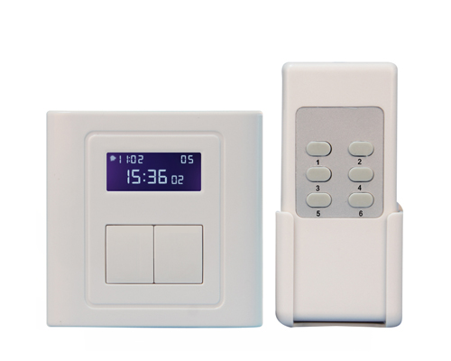 BRT-606 Timer Switch with Remote Control